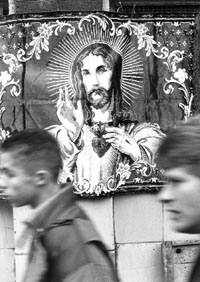 Jesus, London: COPYRIGHT: Christoph Rau, Darmstadt 2003
